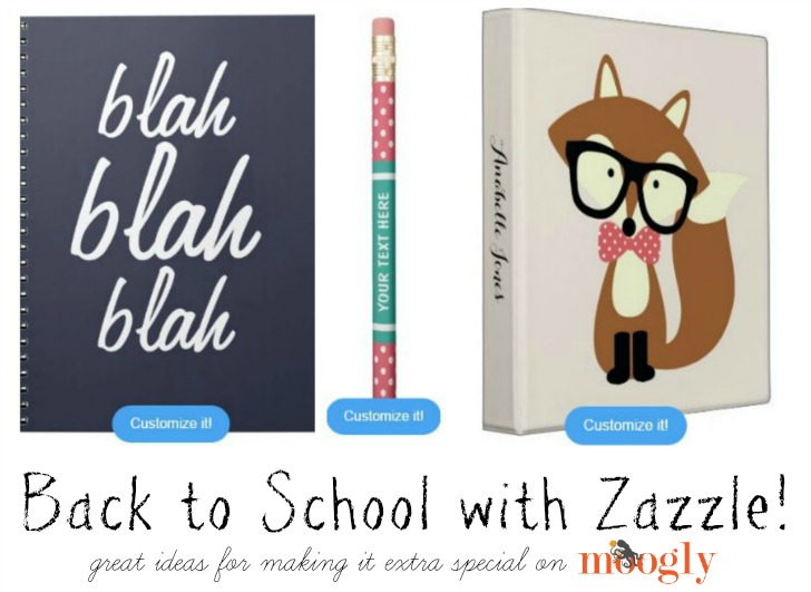 Shop Zazzle for Back to School!
