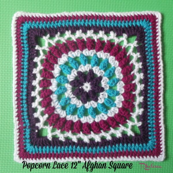 Block #17 in the 2016 Moogly Afghan CAL!