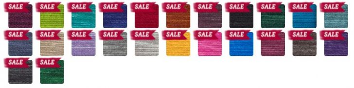 Lion Brand Wool-Ease Tonal - gorgeous colors in a bulky weight yarn!