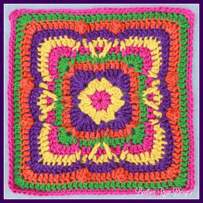 Block #20 in the Moogly Afghan CAL for 2016!