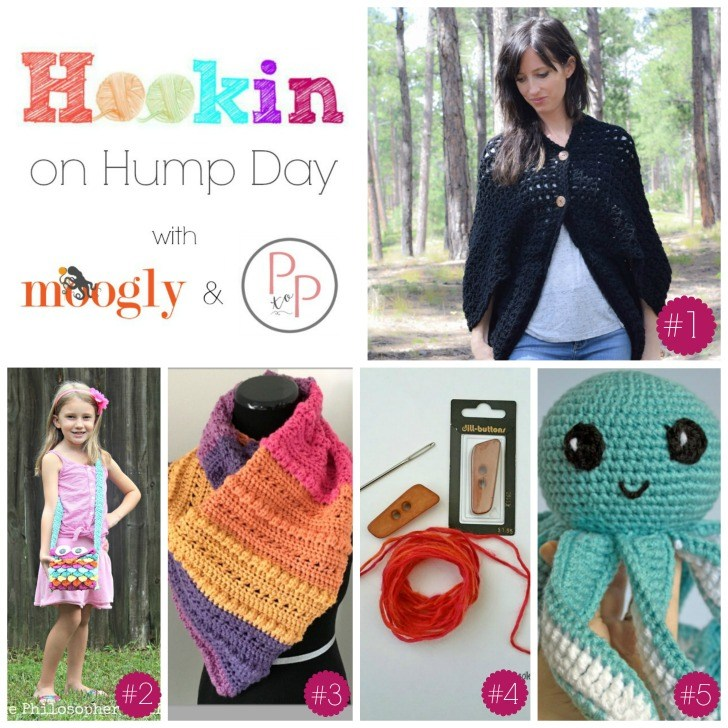 Hookin On Hump Day #127! Get all these FREE patterns on Moogly (and add your own!)