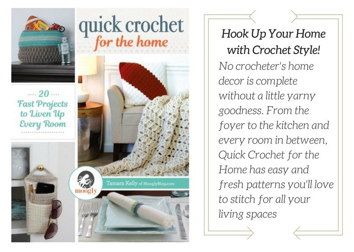 Book Cover - Quick Crochet for the Home