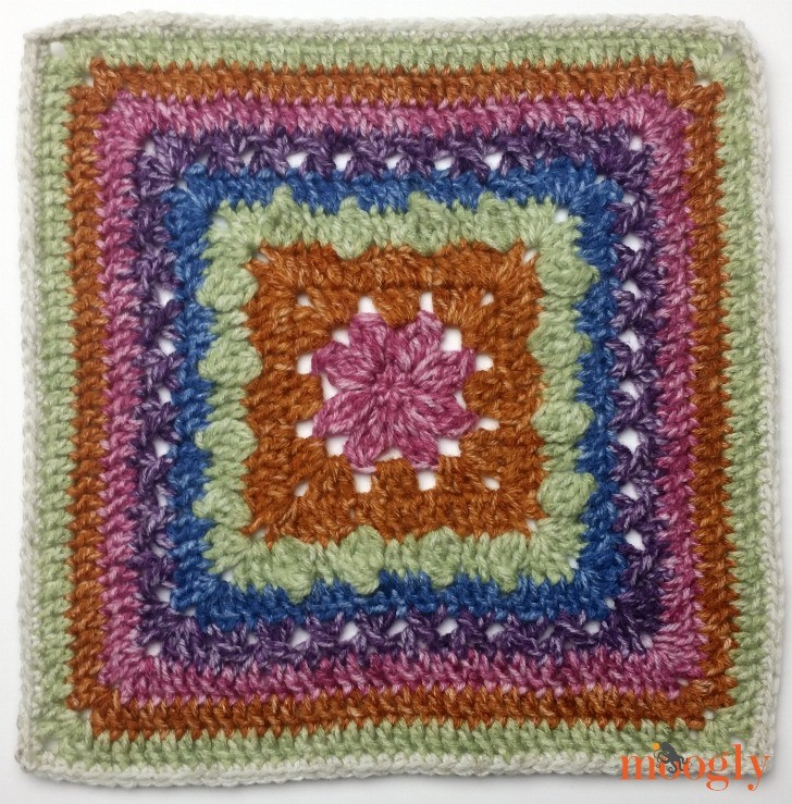 Block #19 in the 2016 Moogly Afghan CAL!
