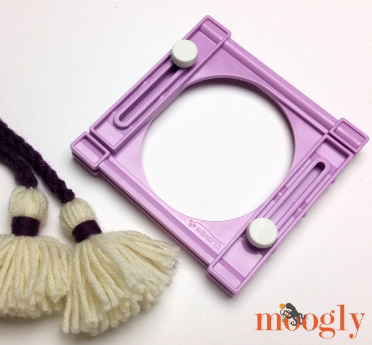 Clover Tassel Makers and Handy Thread Twister - Giveaway on Moogly! Open to the US and Canada, ends 10/28/16 at 12:15am central US time.
