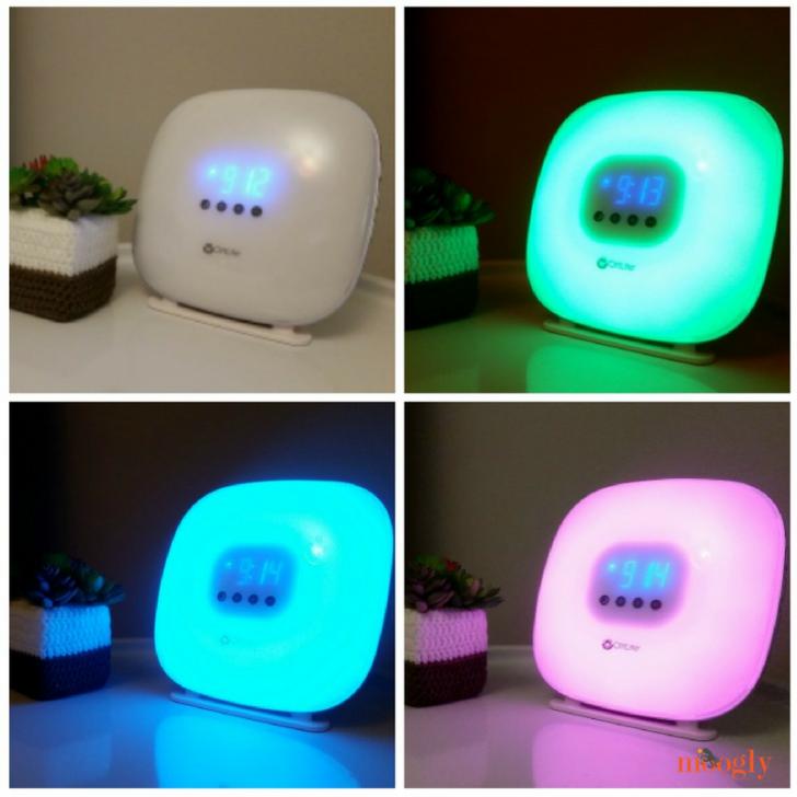 OttLite Wake Up Your Way Light & Alarm Clock