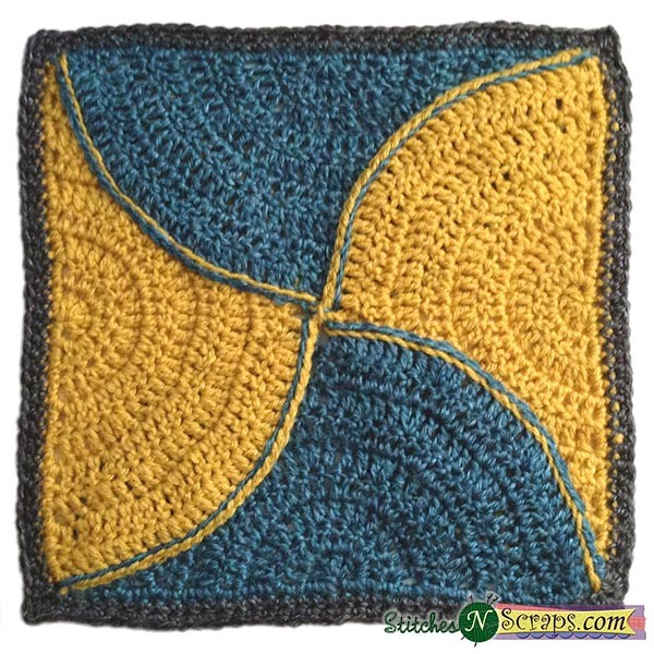 Block #22 in the Moogly Afghan CAL for 2016!