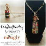 CrafterJewelry Crochet in a Bottle Necklace Giveaway!