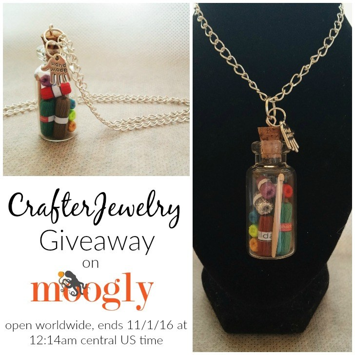 CrafterJewelry Giveaway on Moogly! Open worldwide - ends 11/1/16 at 12:15am central US time!