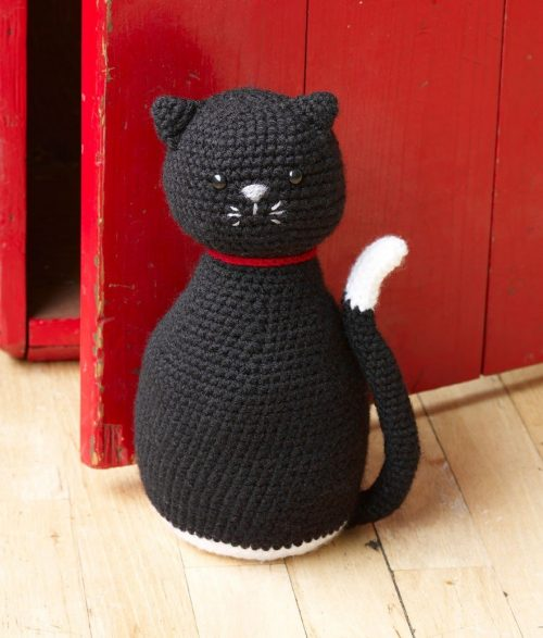 Amigurumi Black Cat Pattern : Happy Crochet Halloween with Lion Brand Yarn! - moogly