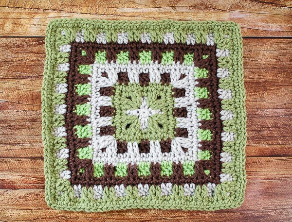 Block #23 in the Moogly Afghan CAL for 2016!