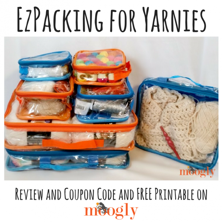 EZPacking for Yarnies: Review, Coupon Code, and Free Printable on Moogly!