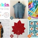Hookin On Hump Day #130: Link Party for the Yarny Arts!