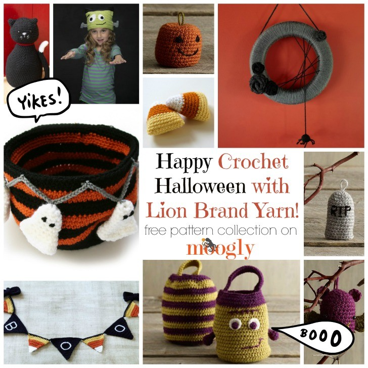 Fun Free Halloween Crochet Patterns from Lion Brand Yarn!