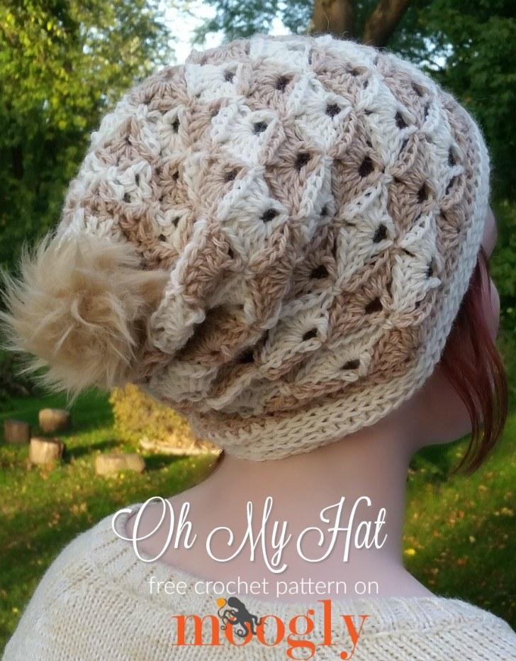 Free Crochet Pattern Oh My Hat Moogly