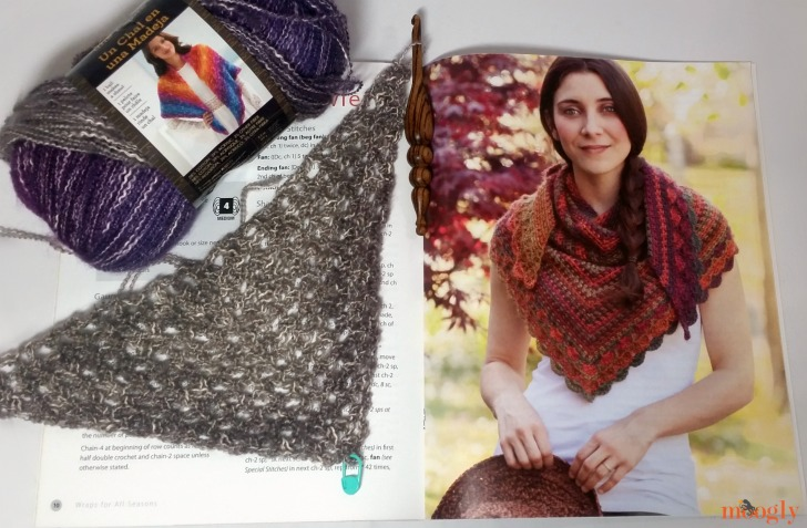 Wraps for All Seasons by Andee Graves - giveaway on Moogly! Open to US addresses, ends 11/15/16 at 12:15am US Central time.