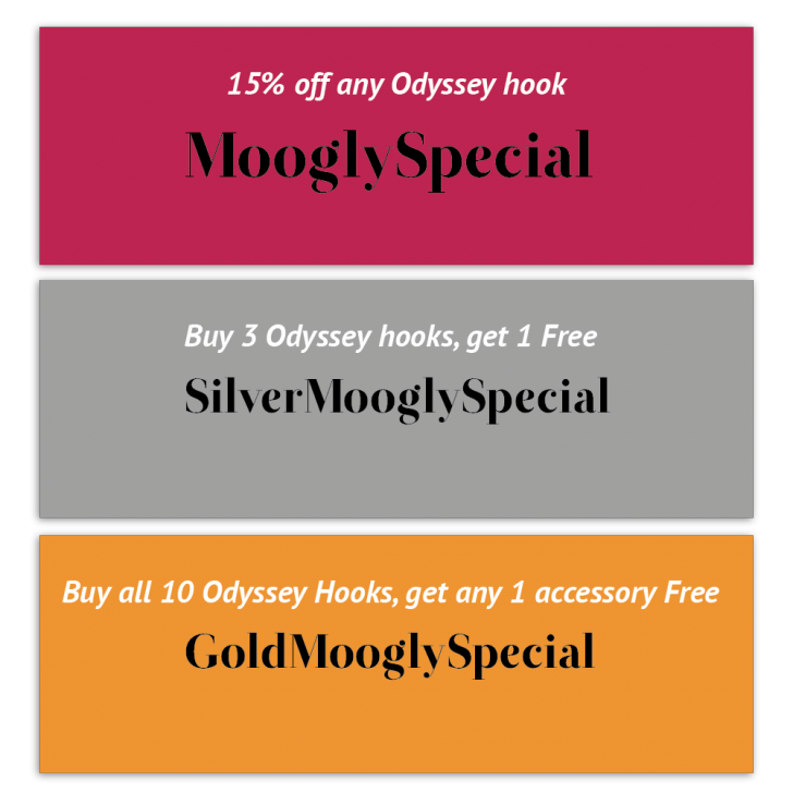 Get special discounts for Moogly readers on Furls Crochet Hooks and Accessories!