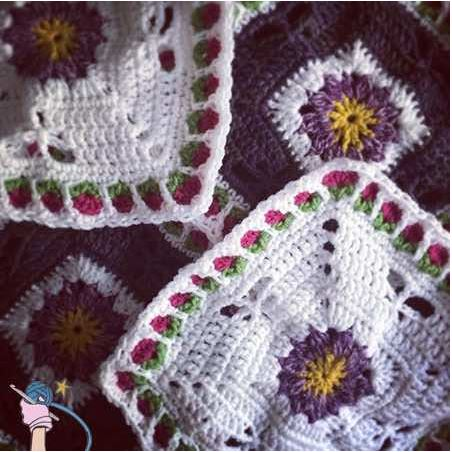 Block #24 in the 2016 Moogly Crochet Along! All patterns free!