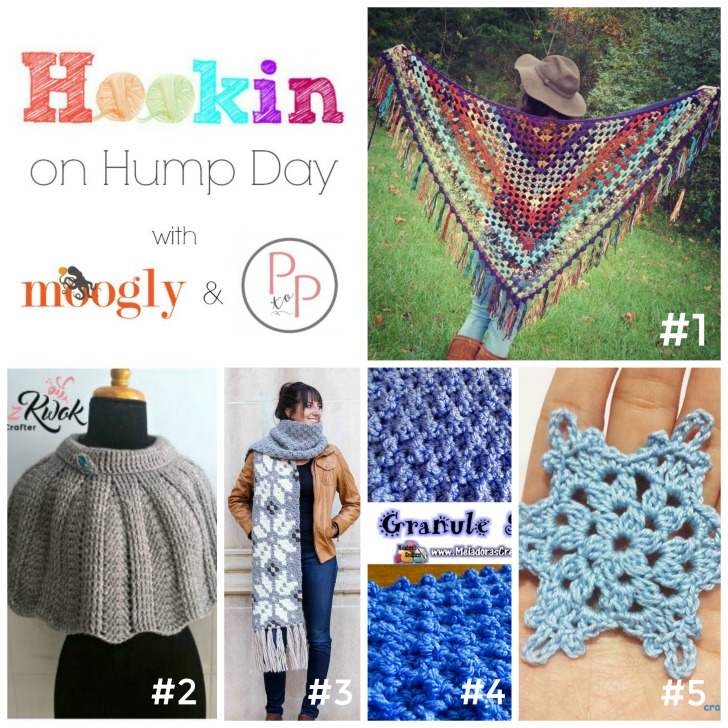 Hookin On Hump Day #131 - this round, all these lovely crochet projects are FREE!