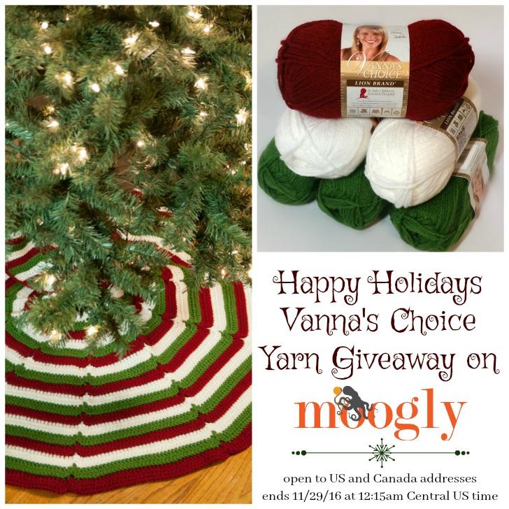 Happy Holidays Vannas Choice Yarn Giveaway! - moogly
