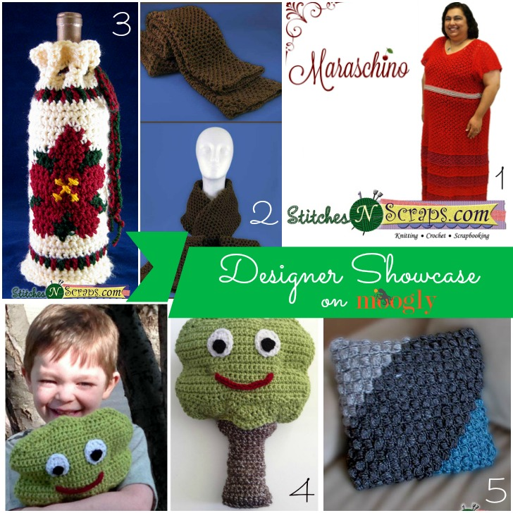 Pia Thadani is in the Moogly Designer Showcase! Learn more about this fab knitting and crochet designer, and get 5 FREE crochet patterns on Mooglyblog.com!