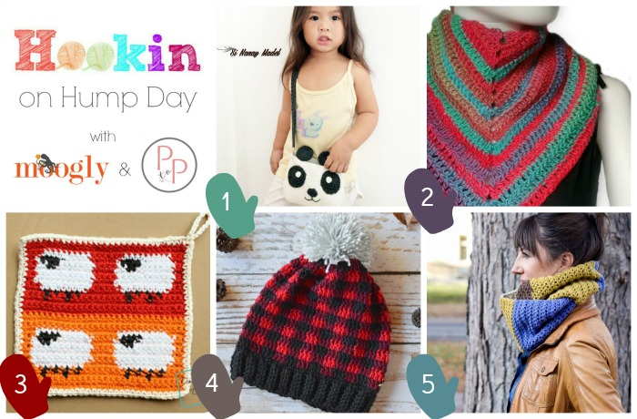 Hookin On Hump Day #132 - the best yarn focused link party around! Get links to all these gorgeous projects on Mooglyblog.com! And if you're a blogger or creator, link your projects up for a chance to be featured!