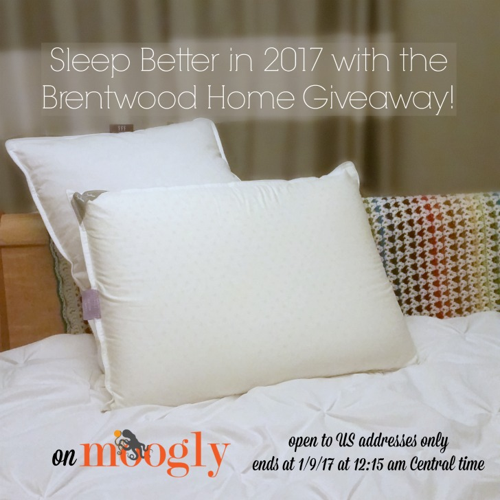 Brentwood Home Sleep Wellness Bundle - Giveaway on Moogly! Open to US addresses only, ends 1/9/17 at 12:15am Central US time.