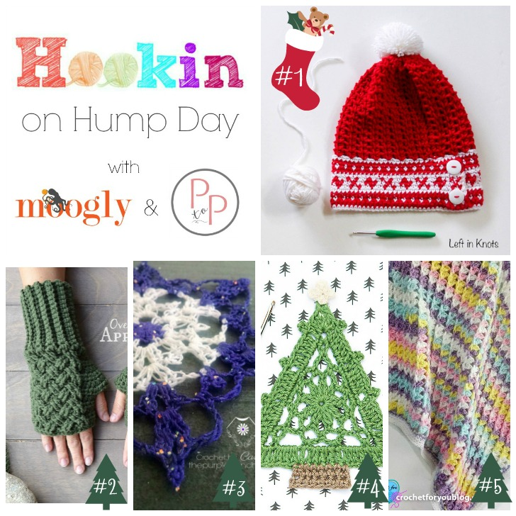 Hookin On Hump Day #133 is up - and it's full of FREE crochet patterns! ♥ Check them out and add your own blog patterns on Moogly!