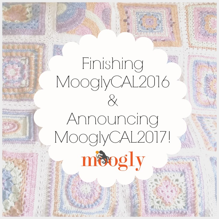 Moogly Crochet Along 2017 is starting! Free on Mooglyblog.com!