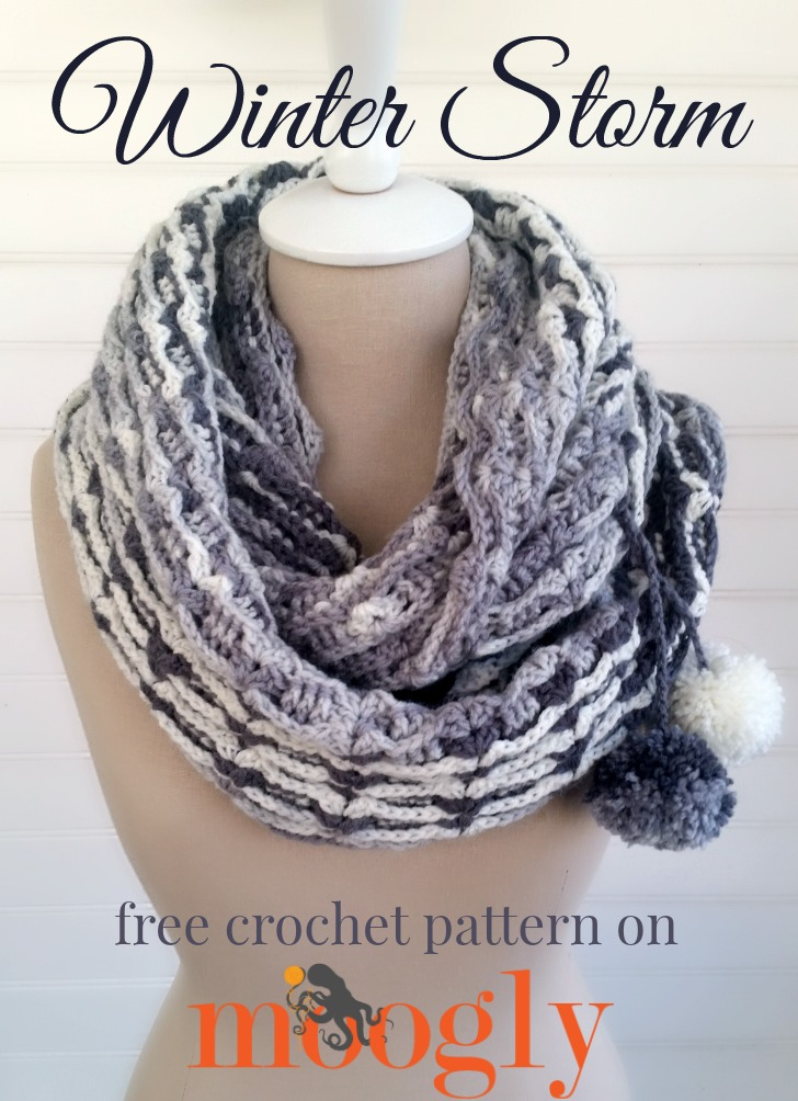 Winter Storm Scarf - moogly