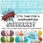 Lion Brand Yarn Heroes Vanna's Choice Giveaway!
