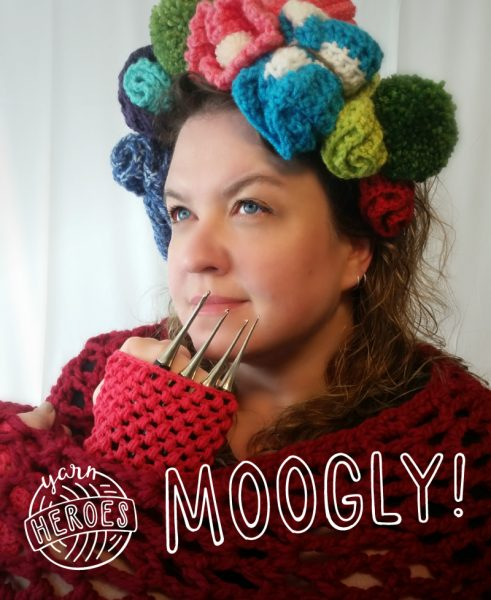 Moogly is a Yarn Hero!