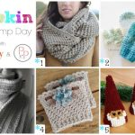 Hookin On Hump Day #134: Link Party for the Yarny Arts!