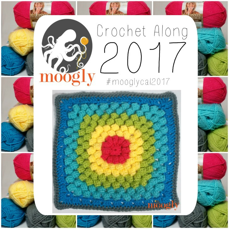 MooglyCAL2017 Block #2 - courtesy of Salena Baca Designs!