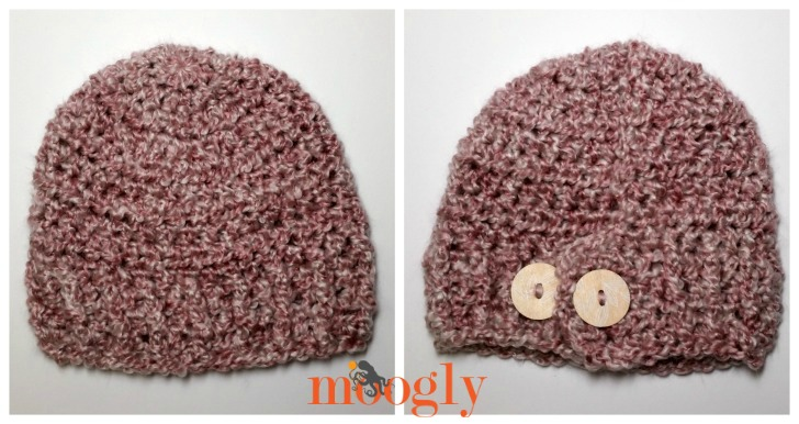 Pick Your Pony Beanie - free crochet pattern on Mooglyblog.com!