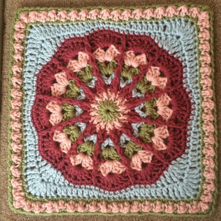 MooglyCAL2017 - Block #1 by Julie Yeager, on Julie Yeager Designs