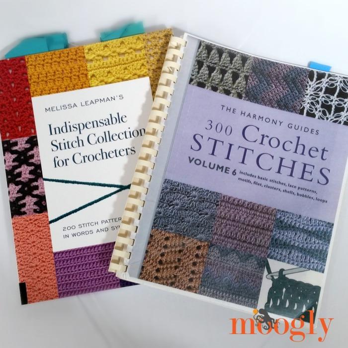 My 10 Favorite Crochet Stitch Dictionaries - moogly