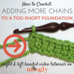 Adding Chains to a Too-Short Foundation