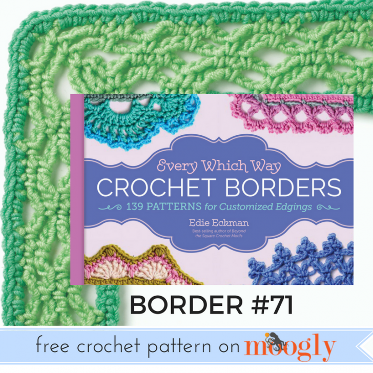 Every Which Way Crochet Borders Pattern 71 Moogly