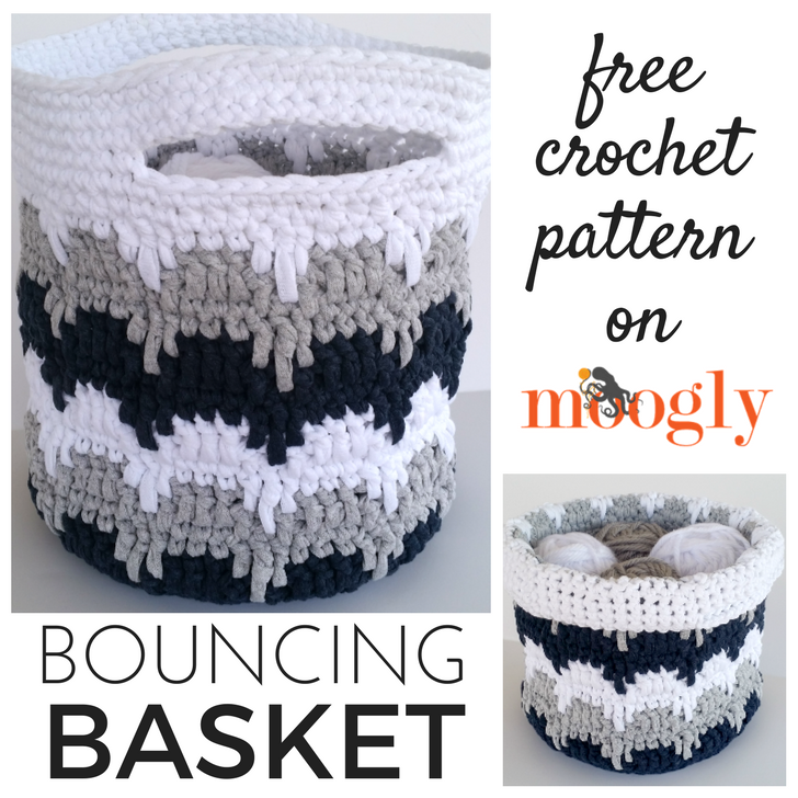 Free Crochet Basket Patterns Archives Moogly