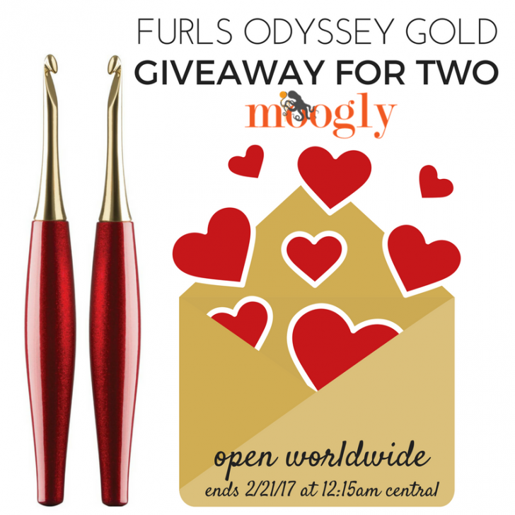 Furls Odyssey Gold - giveaway on Mooglyblog.com! Open worldwide, ends 2/21/17 at 12:15am Central US time.