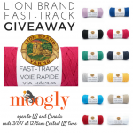 Lion Brand Fast-Track Giveaway on Moogly!