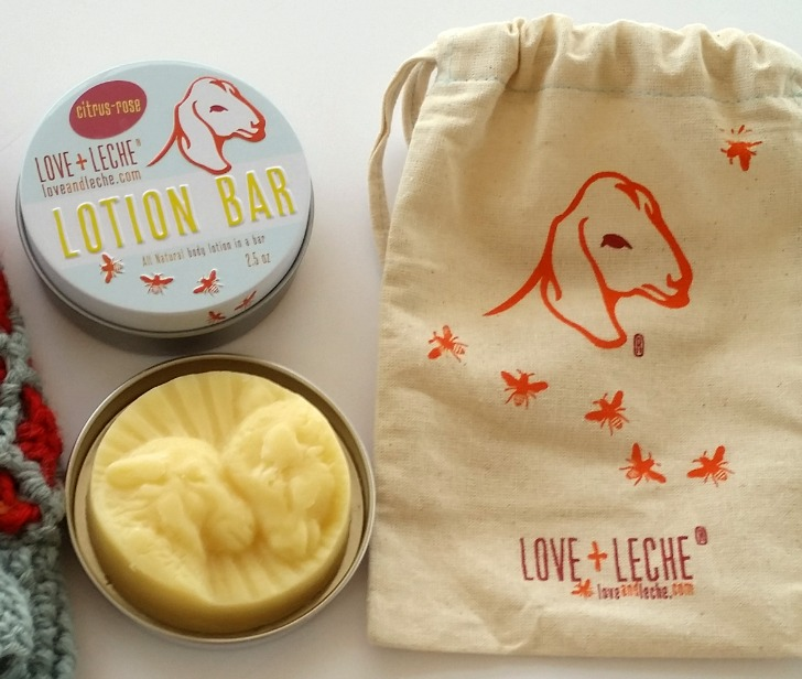 Love + Leche's gorgeous new tin, Sweet Sheep mold, and bag!