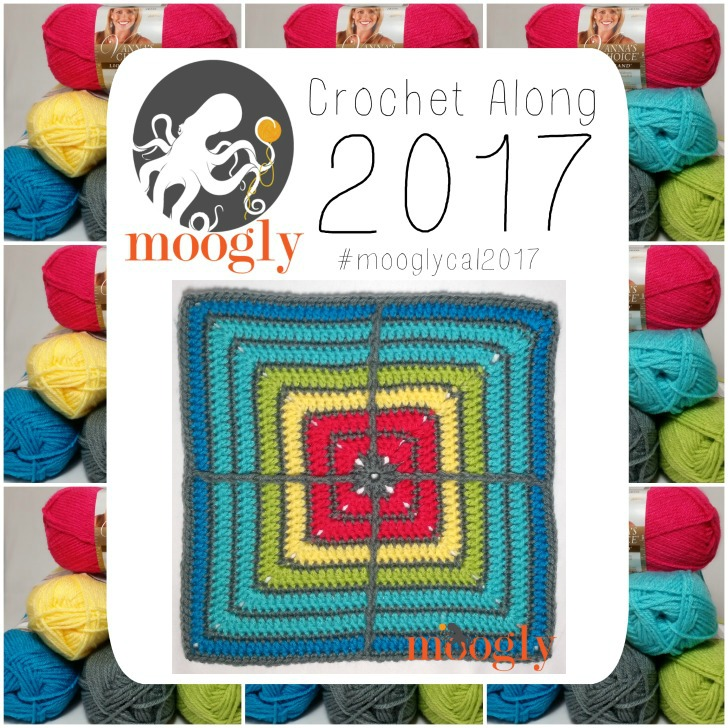 Block #4 for the MooglyCAL2017, courtesy of Jessie at Home!