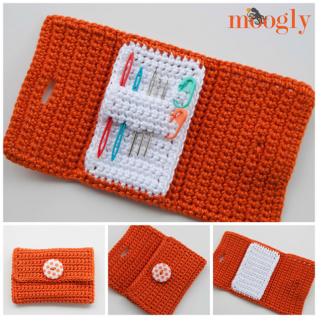 Crochet Home Organization Patterns with Lion Brand Yarn - All Free ...