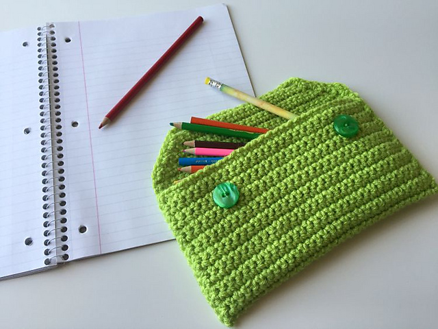 Free Crochet Patterns for Home Organization made with Lion Brand Yarn - get the collection on Mooglyblog.com!