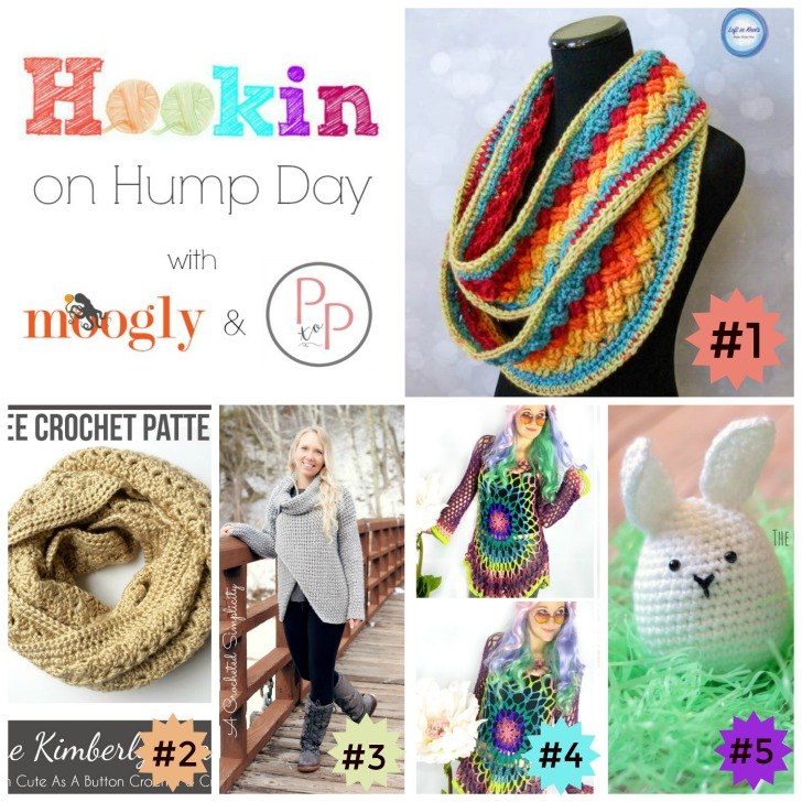 Hookin On Humpday is back for round #139 - full of amazing patterns and projects to inspire you! Check them out and add your own on Mooglyblog.com!
