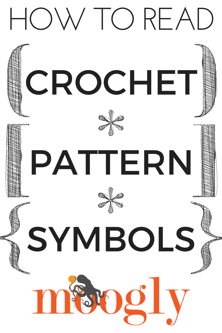 How To Read Crochet Pattern Symbols Moogly