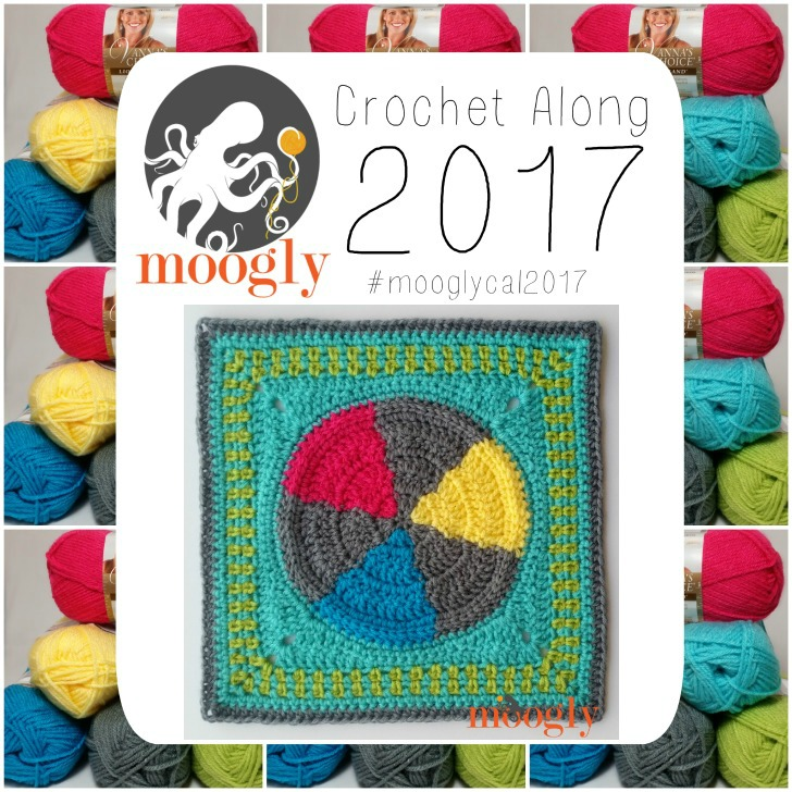 Block #7 in the MooglyCAL2017 - courtesy of Stitches N Scraps!