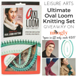 Leisure Arts Ultimate Oval Loom Knitting Set: Review & Giveaway!