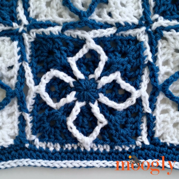 There You Go Throw - free crochet pattern on Mooglyblog.com!